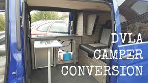 DVLA Requirements For Van To Camper