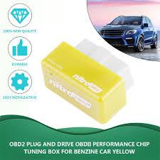 100 Truck Performance Chips Nitro OBD2 Chip Tuning Box Petrol Car Power Engine ECU Remap