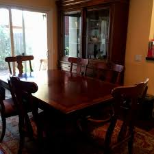 Ethan Allen Dining Room Set Craigslist by Ethan Allen Dining Dining Set Table 6 Splat Back Dining Chairs