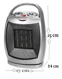 mini badezimmer heizung rotation 3 stufen 750 watt keramik