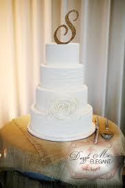 Burlap Rustic Monogram Wedding Cake Topper Toppers Canada