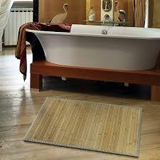 casa pura bambusteppich marigold für bad und wohnzimmer natürlich wohnen bambus bambusmatte in vielen größen