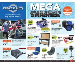 Sears Canada Tile Saw by Princess Auto Flyer May 26 To June 7 Canada