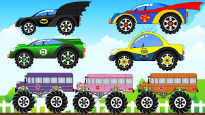 The Superheroes Cars Colors And School Bus Trucks- Learning Colours ... Easy On The Eye Grave Digger Monster Truck Toys Feature Gas Mayhem Youtube Traxxas Destruction Tour Bakersfield Ca 2017 School Bus End Hot Wheels Jam 2018 Poster Full Reveal Youtube Im A Trucks Pinkfong Songs For Children New Bright 110 Radio Control Chrome Cg In Carrier Dome Syracuse Ny 2014 Show Appmink Car Animation Fun Cartoon With Police Car Fire And All Hot Trending Now Scary Video Kids