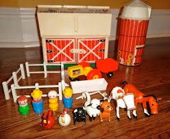 Vintage Fisher Price Farm Set - They Tried To Re-release A Retro ... Amazoncom Fisherprice Little People Fun Sounds Farm Vintage Fisher Price Play Family Red Barn W Doyourember Youtube Animal Donkey Cart Wspning Animals Mercari Buy Sell Things Toys Wallpapers Background Preschool Pretend Hobbies S Playset Farmer Hay Stackin Stable Walmartcom