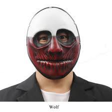 Payday 2 Halloween Masks by Payday Mask Dallas Wolf Hoxton Chains Resin Mask Halloween Mask