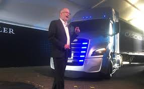 100 Daimler Truck North America Fights Tesla VW With New Electric Big Rig Truck Reuters