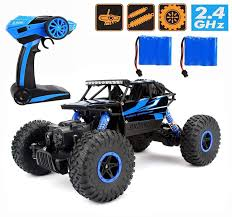 Amazon.com: RC Car ,CR 2.4Ghz 4WD High Speed Off-Road Vehicle RC ...