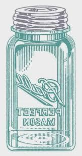 Vintage Mason Jar Mirror Image