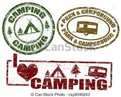 Camping Clip Art And Stock Illustrations 40731 EPS