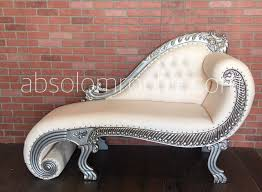 100 Boudoir Sofa 1DAY SALE 40 OFF Baroque Chaise Settee Silver