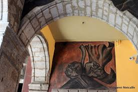 Jose Clemente Orozco Murales San Ildefonso by Murals San Ildefonso