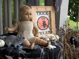 Halloween Porch Decorations Pinterest by 100 Creepy Halloween Decoration Ideas How To Make Outdoor