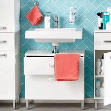 home creation waschbecken unterschrank badezimmermöbel bad schrank unterschrank weiss