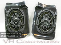 100 Truck Speakers 67 68 69 70 71 72 Chevy Rear Speaker Enclosures Kicker 6x9