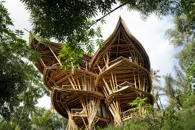 Dramatic Bamboo House In Bali | IDesignArch | Interior Design ... Large Tree Houses With Natural Bamboo Bedroom In House Design Designed Philippines Joy Studio Gallery Simple Home Small Low Cost Bamboo Housing In Vietnam By Hp Architects Bali Great Beautiful House Interior Design Mapo And Cafeteria Within Ideas Gorgeous Home For Expansive Carpet Bungalow Pleasant Traditional 1000 Images About On