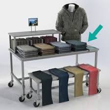 The Small Retail Display Tables Come With Casters Requiring No Heavy Lifting These Nesting Have A Metallic Silver Finish