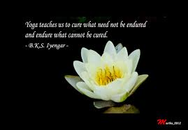 One Of My Favorite Quote By BKS Iyengar A Famous Yoga Teacher