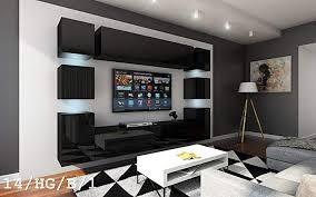 future 14 wohnwand anbauwand wand schrank möbel tv schrank