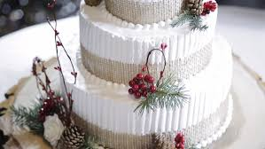 Rustic Wedding Cake With Fruits Stock Footage Video 13811189