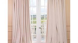 Dkny Modern Velvet Curtain Panels by Exclusive Fabrics Signature Warm Black Velvet Blackout Curtain