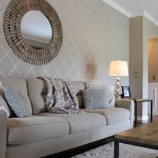 Living Room Accent Wall Ideas Wallpaper Feature Designs Lounge Grey