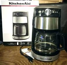 Kitchenaid Red 10 Cup Coffee Maker Cups Silver S Keurig Walmart