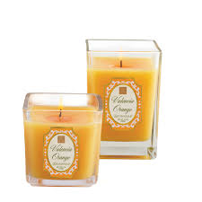 Pumpkin Whoopie Pie Candle by Small And Medium Cube Candles In Valencia Orange Aromatique