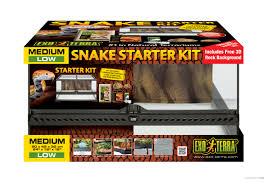 Ball Python Bedding by Exo Terra Snake Starter Kit Starter Kit For Corn Snakes
