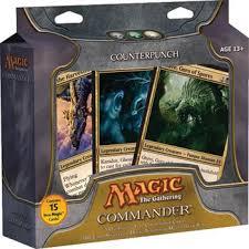 Premade Commander Decks 2015 by Magic The Gathering Magic Commander Deck Counterpunch Single
