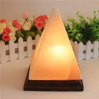 Himalayan Salt Lamp Pyramid Shape by Jilin Province Ever Creation Technology Co Ltd Hand Carved