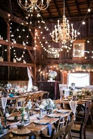 Elegant Rustic Barn Wedding Reception Ideas