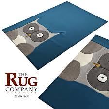 Cute Owl Car Floor Mats by 3d Carpet Barber Osgerby Owl Rug Cgtrader