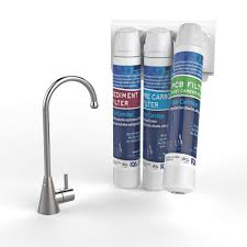 Ge Profile Reverse Osmosis Brushed Nickel Faucet by Apec Water Systems Kitchen The Home Depot