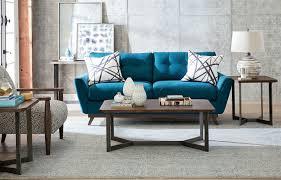 Bobs Benton Sleeper Sofa by Benton Antiqued Silver Rectangular Occasional Table Set From