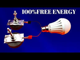 search result how to make free energy light bulb