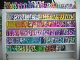 My little Pony G4 Blind Bag Shelf update again by BerryMouse on