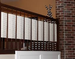 DIY BANISTER GUARD - BABY PROOFING STAIRS - House Of Romero Infant Safety Gates For Stairs With Rod Iron Railings Child Safe Plexiglass Banister Shield Baby Homes Kidproofing The Banister From Incomplete Guide To Living Gate For With Diy Best Products Proofing Montgomery Gallery In Houston Tx Precious And Wall Proof Ideas Collection Of Solutions Cheap Way A Stairway Plexi Glass Long Island Ny Youtube Safety Stair Railings Fabric Weaved Through Spindles Children Och Balustrades Weland Ab