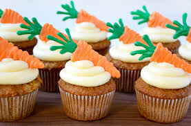 carrot cupcakes cream cheese frosting recipe