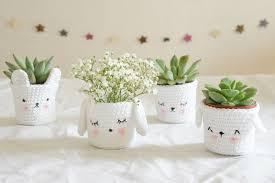 coeur de en pot 10 créations qui donnent envie de se mettre au crochet plant