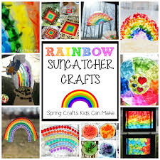10 Fun Rainbow Suncatcher Crafts For Spring Easy Preschoolers And Toddlers