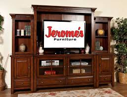 Elegant Entertainment Centers For Flat Screen Tvs Regarding Traditional Style Family Room Decoration With Dark Teak Wood Idea 6