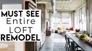 104 Interior Design Loft Remodel Must See Youtube