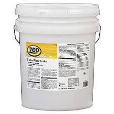 Zep Floor Finish Msds by Zep Professional Floor Sealer 5 Gal 20 To 30 Min 3hur8 R04035