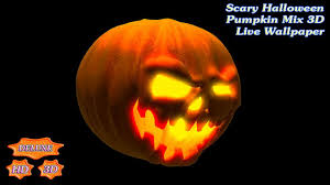 Halloween Live Wallpapers Android by Scary Halloween Pumpkin Mix 3d Android Apps On Google Play