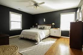 modern boho ceiling fan in our master bedroom
