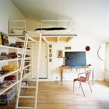chambre lit mezzanine mezzanine en bois et métal pour chambre d enfant