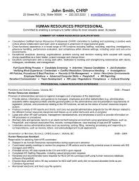 Resume Examples Human Resources Resumeexamples Professional