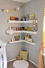 Living Room Corner Shelving Ideas by How To Style Your Corner Shelving Systems