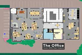 Floor Plans Famous TV and Movie Businesses